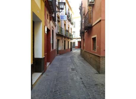 tipica calle Sevillana situada centro ciudad