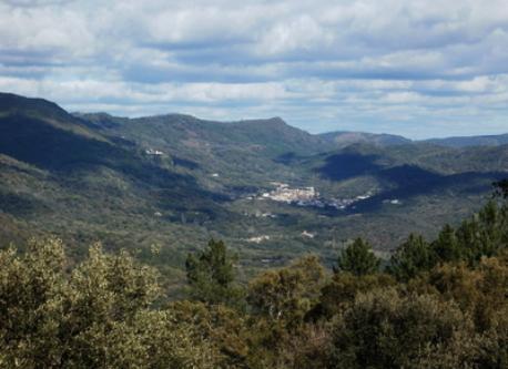 Alajar,pueblo cercano