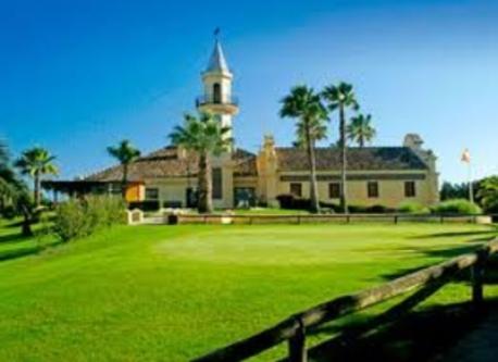 Club de Golf beside the house