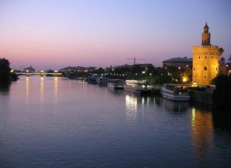 Seville (80 km from our house)