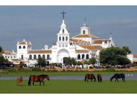 El Rocio (place of biggest pilgrimage in Spain - 50 km from our house)