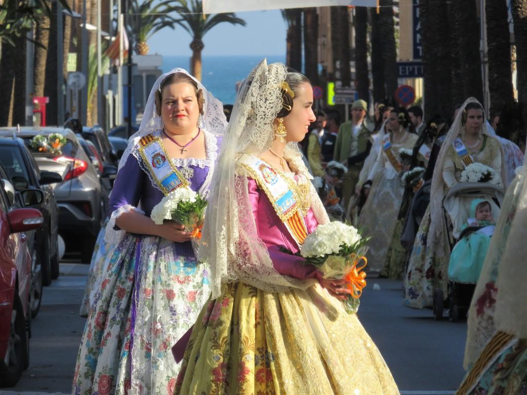 Les Falles fiestas in March