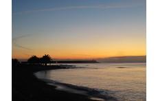 Benicarló beach and port
