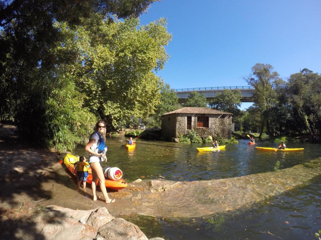 Kayak hire in river Tamuxe