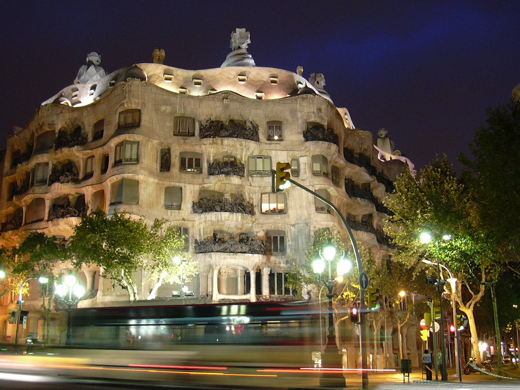 Casa Milà de Gaudí
