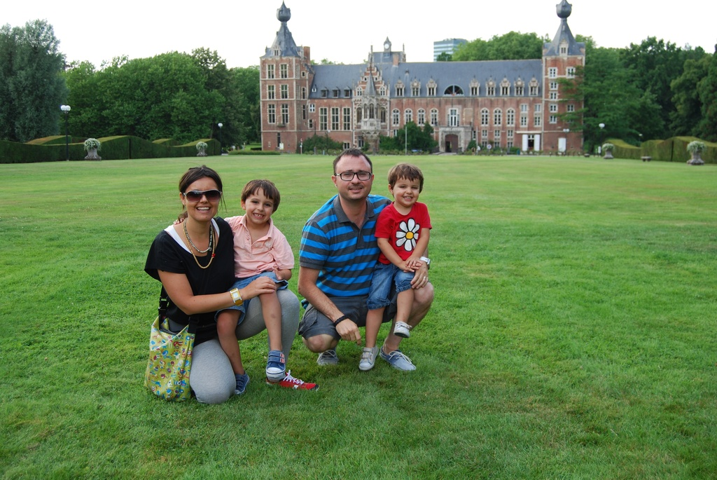 Family in Leuneve - Belgium, summer exchange 2013