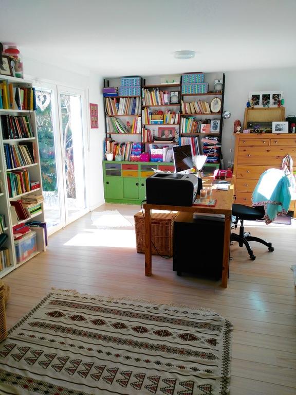Inés' bureau