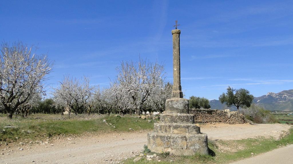 Cruz de la  entrada del  pueblo