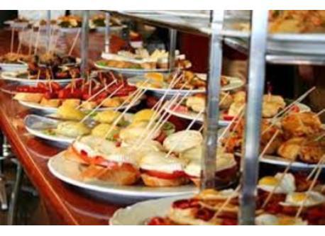 Gastronomía. Los mejores pinchos en la parte vieja, a 1 km