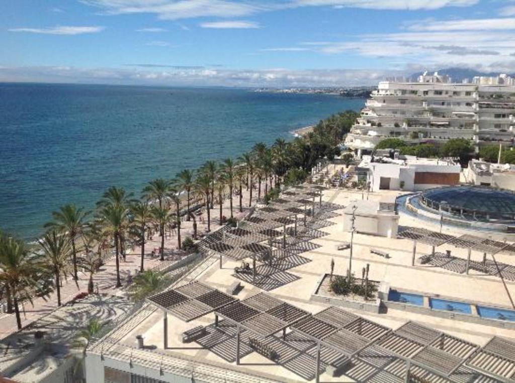 Marbella beach walk