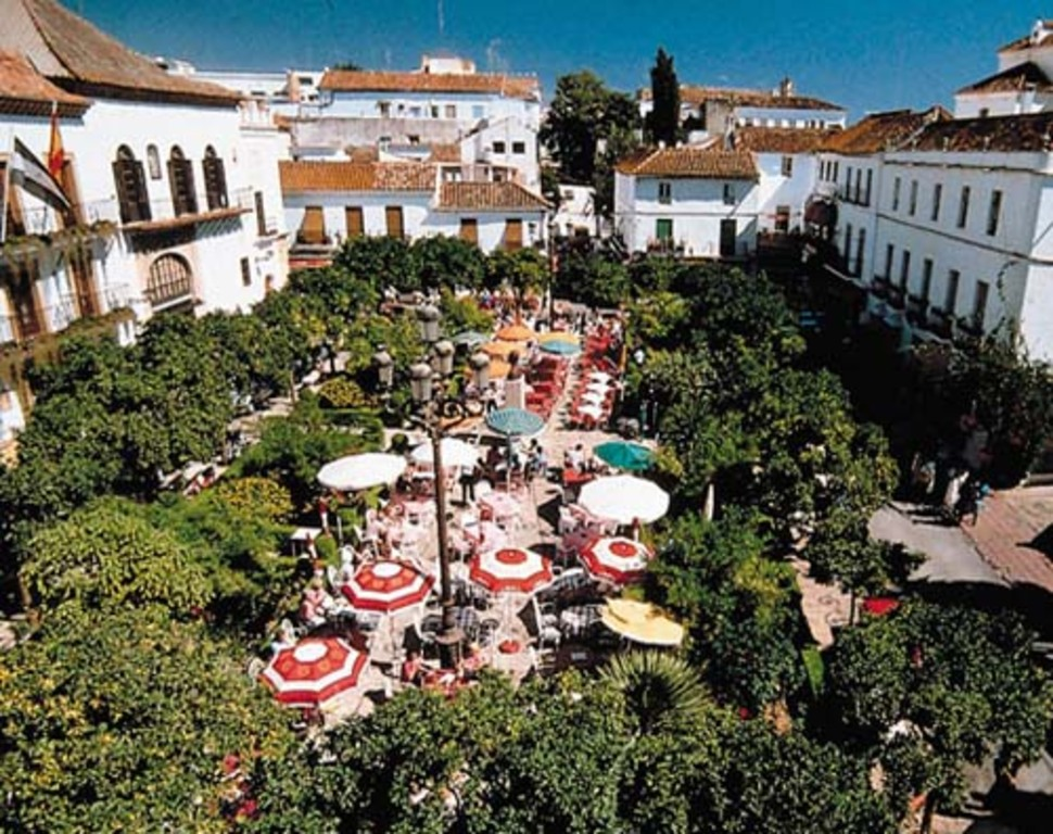 Plaza de los Naranjos at Marbella