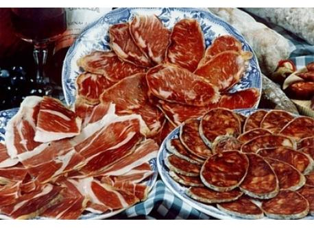 Iberic ham and cold meats
