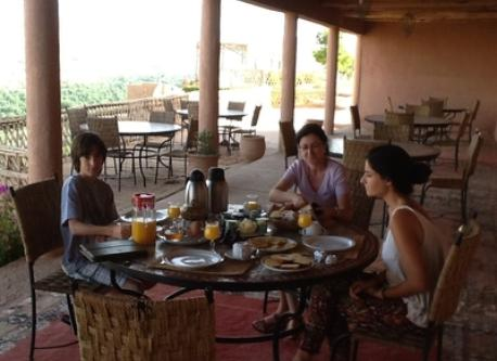 Breakfast at The Atlas (Morocco)