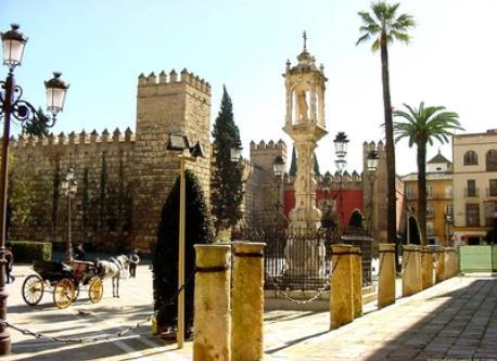 Reales Alcázares at Sevilla