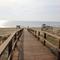 Acceso a la playa de Arenales