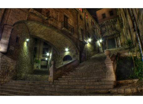 GIRONA. The Medieval Quarter