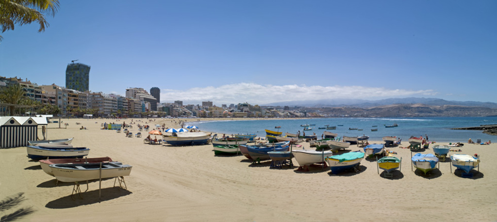 Las Canteras beach, City of Las Palmas
