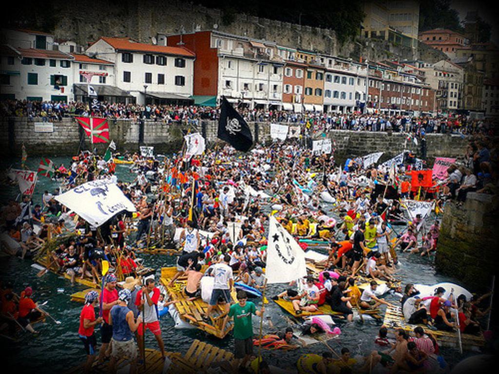 Donostia Semana grande, fiestas