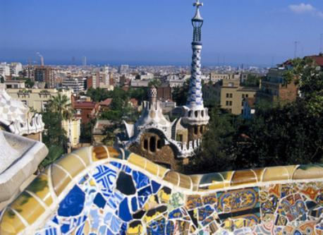 Park Guell, not far from home