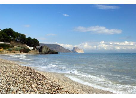 Altea's beach. 5 min from home.