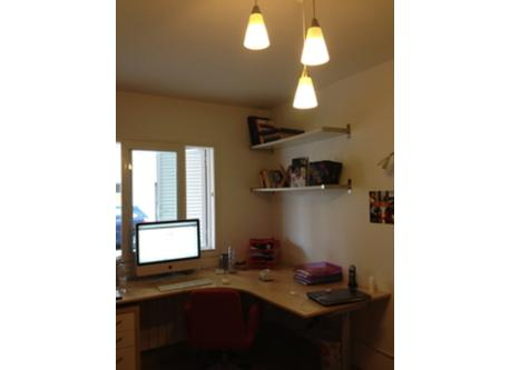Office and doble bedroom