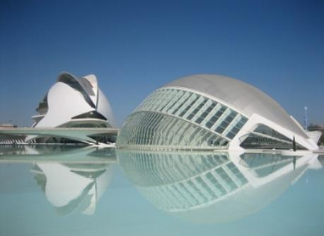 """""""city of < the arts and  the science"""" VALENCIA"""