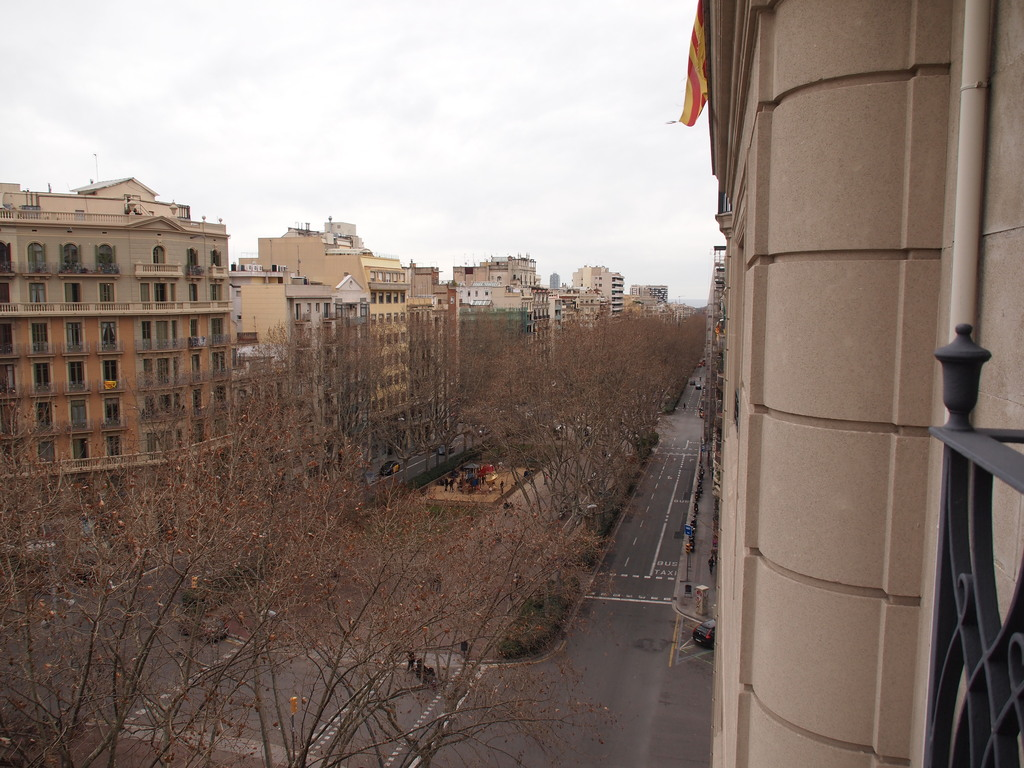 view of Passeig de Sant Joan