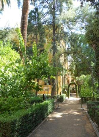 The Botanic Garden across the street