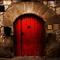 Front door of Ca la Daina