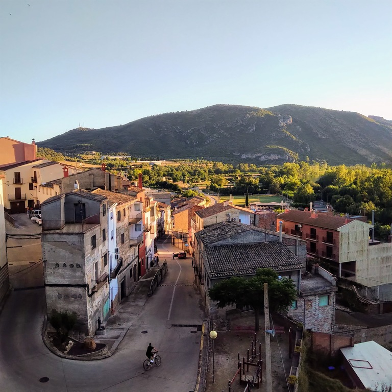 View of Camarasa from our terrace