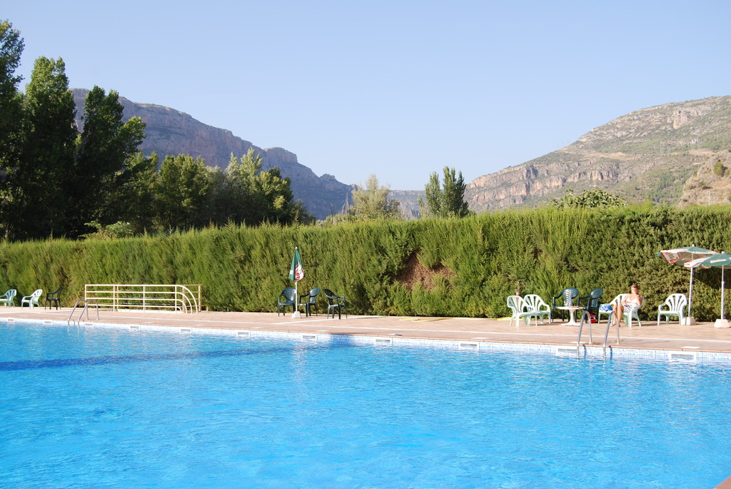Village swimming pool, 10 minutes' walk from our house