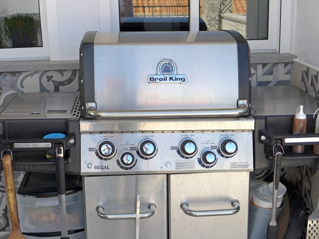 Big new gas grill