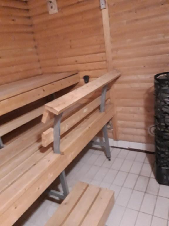 Sauna in Jollas.