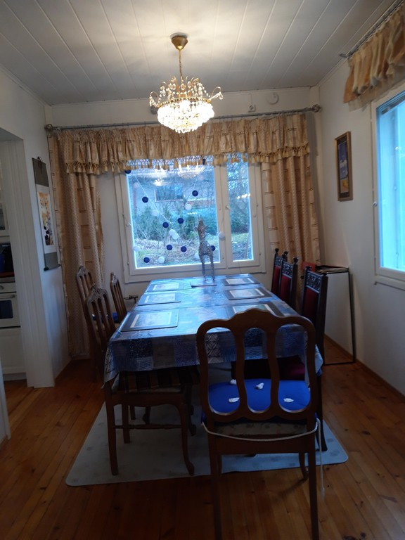 Dining area in Jollas
