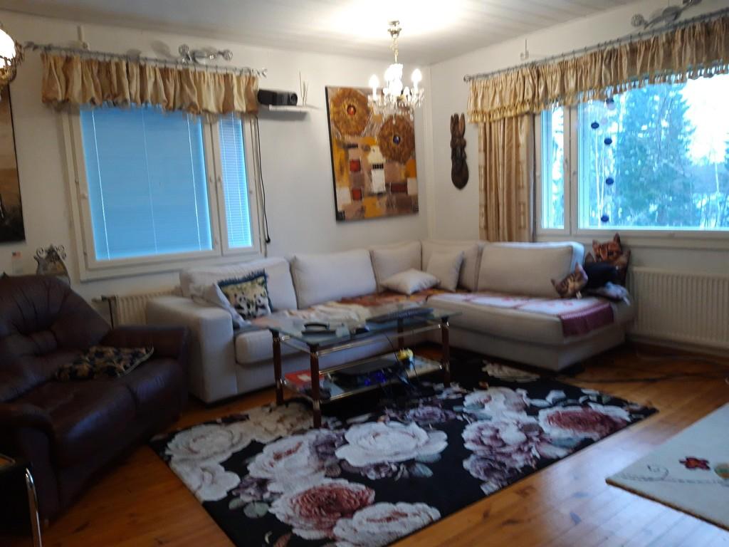 Our living room in Helsinki.