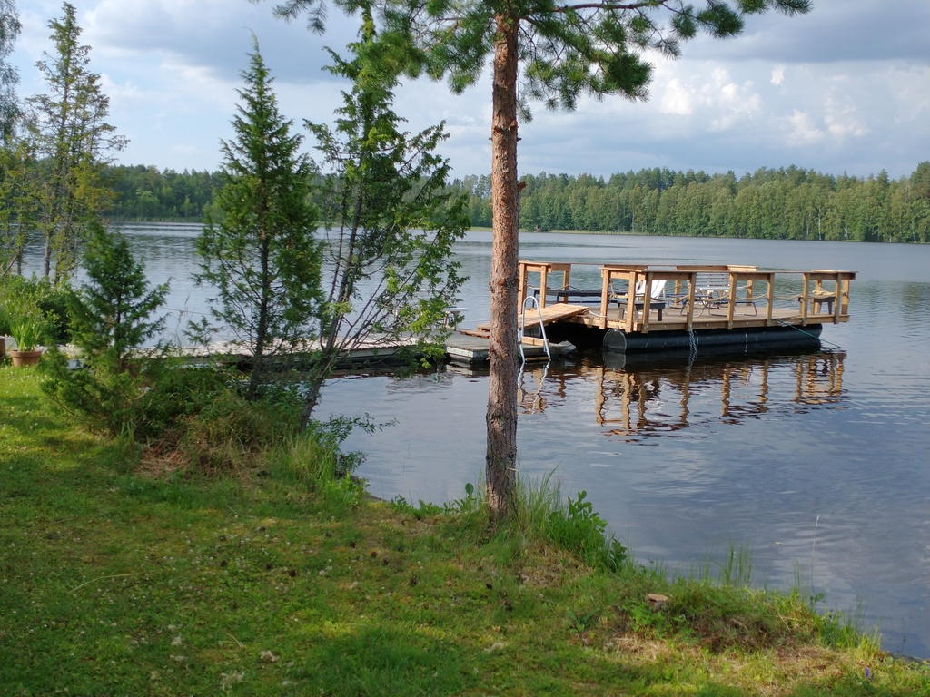 Our summer cottage (also in winter) by lake in Juva