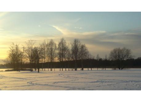 Lake Tuusula in winter 2013