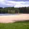 Pieksänjärvi - Hiekanpää beach in spring