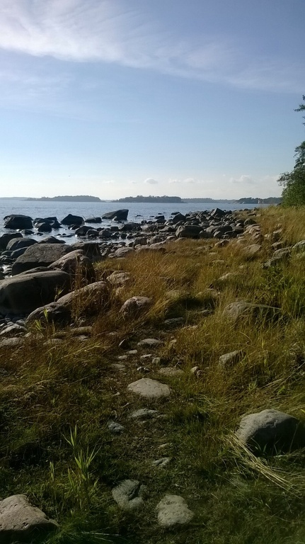 Seashore at Helsinki near us