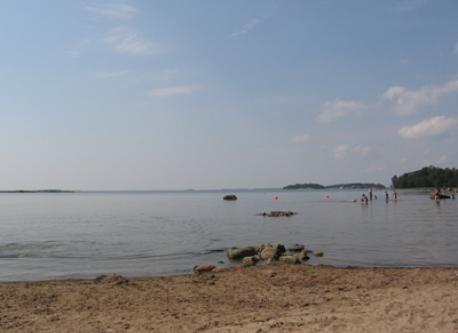 La plage / Beach Kasinonranta