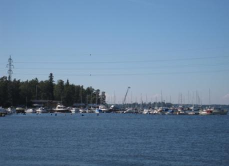 Sea view in Vaasa
