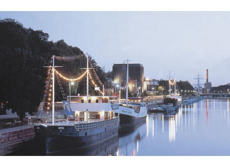 Restaurant boats in Turku