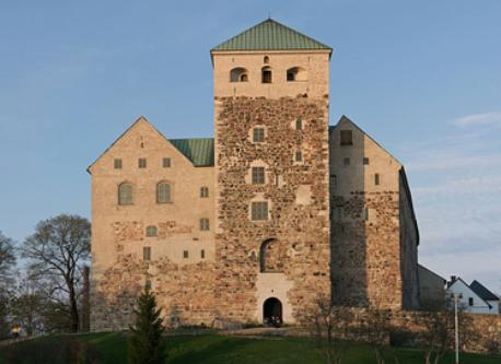 Turku and castle of Turku