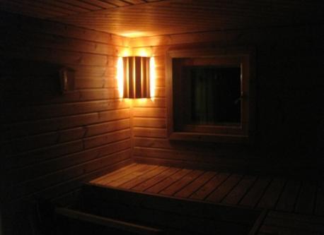 sauna innside
