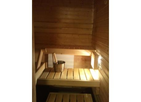 We have our own sauna in our flat.