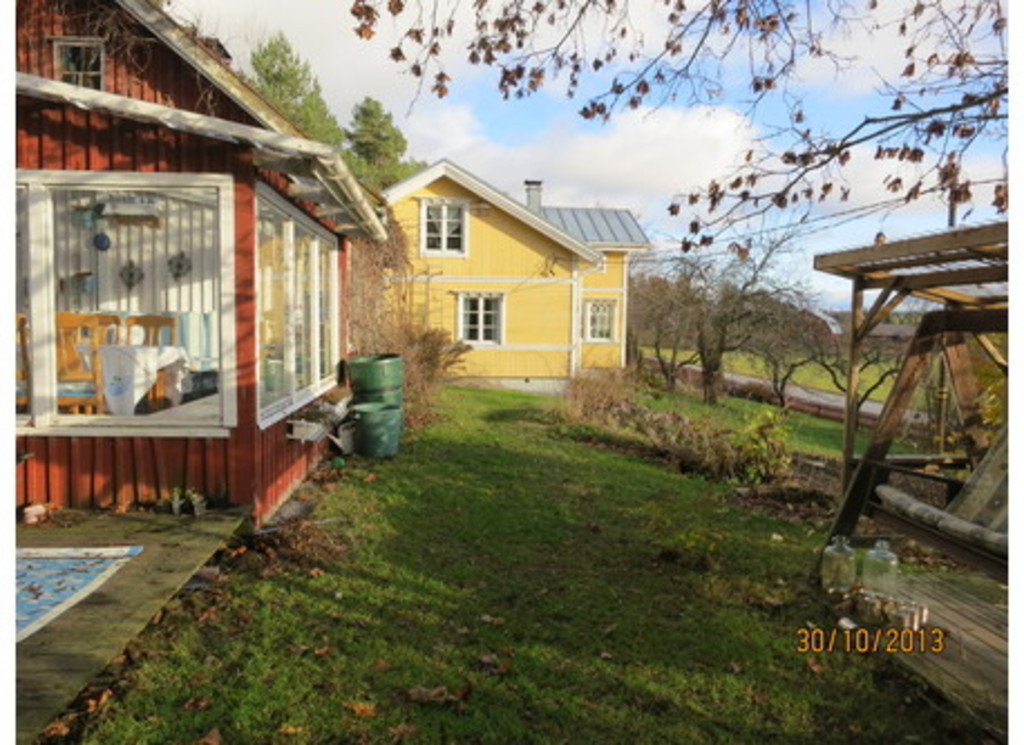 "Our second building, which includes an old, traditional Finnish sauna and our ""Sun room"""