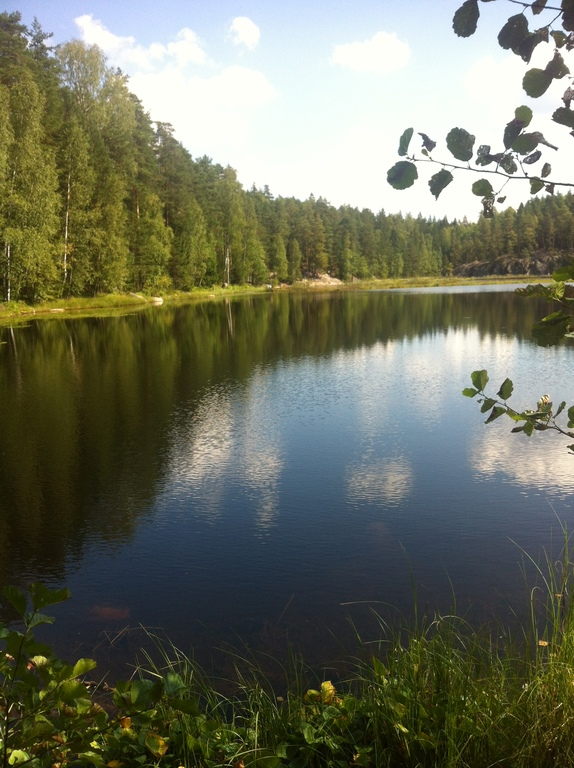 Or the lake in Nuuksio national forest