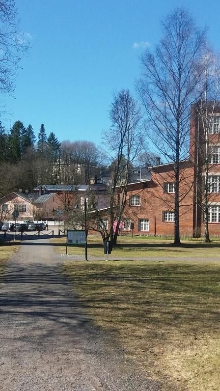 old factory in Littoinen village