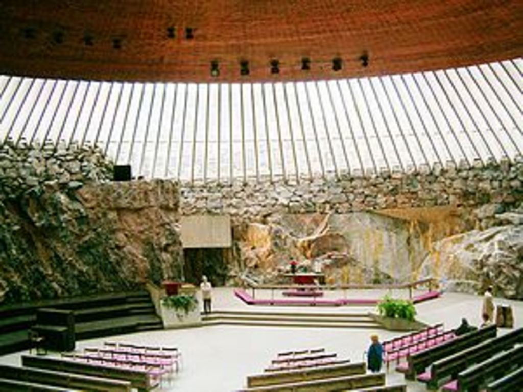 Curch of Temppeliaukio (the Rockchurch under the ground)