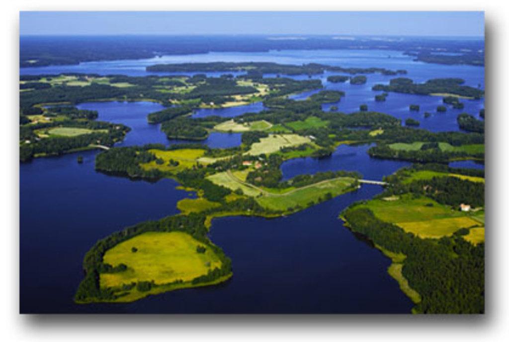 Kangasala has many many lakes.